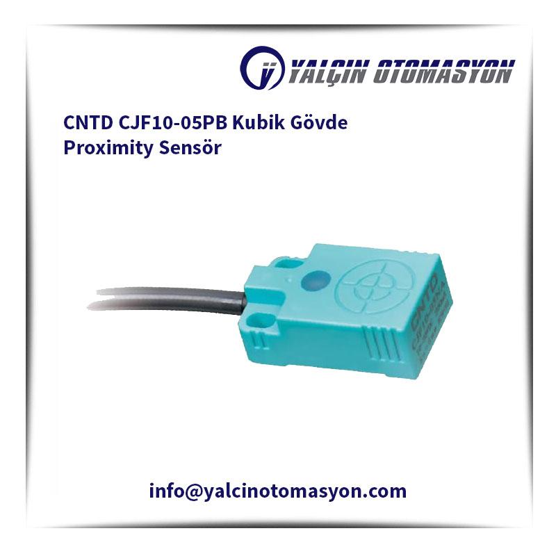 CNTD CJF10-05PB Kubik Gövde Proximity Sensör