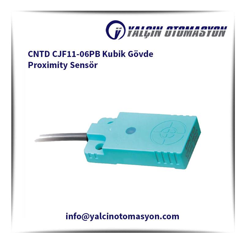 CNTD CJF11-06PB Kubik Gövde Proximity Sensör
