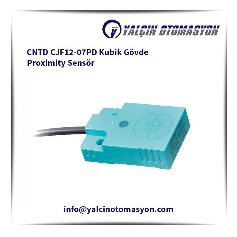 CNTD CJF12-07PD Kubik Gövde Proximity Sensör