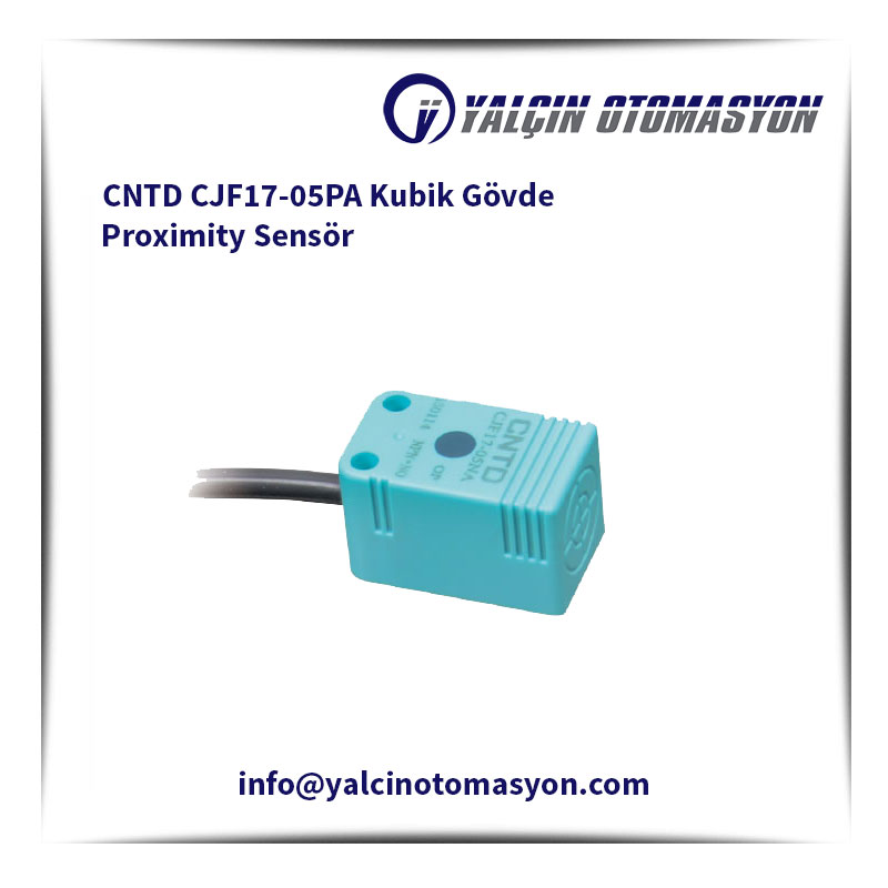 CNTD CJF17-05PA Kubik Gövde Proximity Sensör