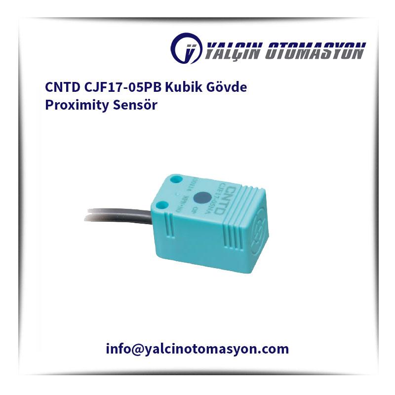 CNTD CJF17-05PB Kubik Gövde Proximity Sensör