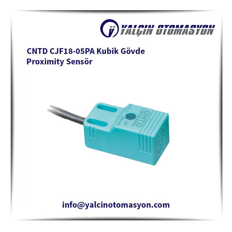 CNTD CJF18-05PA Kubik Gövde Proximity Sensör