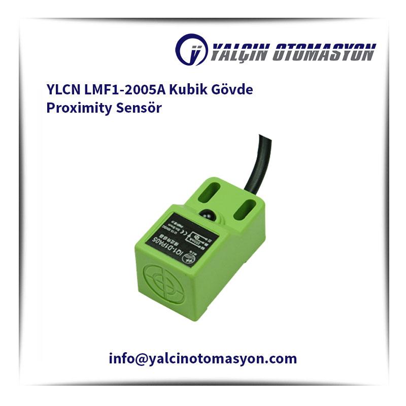 YLCN LMF1-2005A Kubik Gövde Proximity Sensör